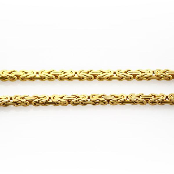 Königskette eckig 4 mm