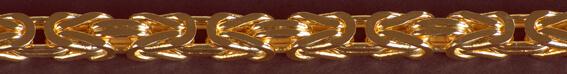 Königskette eckig 6 mm