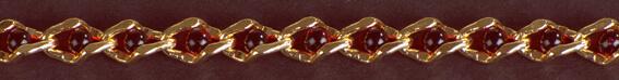 Perlenkette rot 5 mm