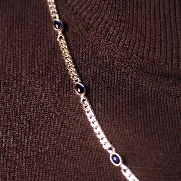 Blaue Steine 4 mm