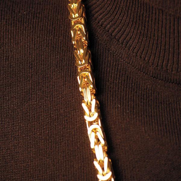 Königskette eckig 8 mm