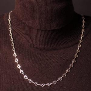 Herzbär-Kette 4 mm